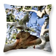 The Cockie Show Throw Pillow