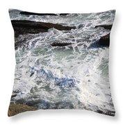 The Cold Atlantic 1 Throw Pillow