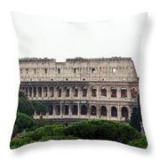 The Coliseum  Throw Pillow