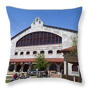The Coliseum Fort Worth Texas Throw Pillow