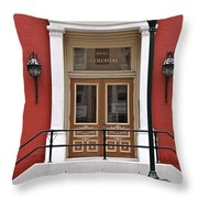 The Colonial Throw Pillow