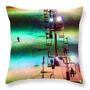 The Color  Of Fun  Throw Pillow