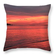 The Color Of Night Throw Pillow