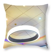 The Power Of The Colors Throw Pillow