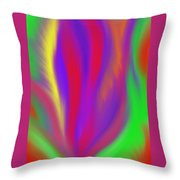 The Colors' Creation Throw Pillow