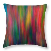 The Colors Of Autumn Impressionistic Throw Pillow