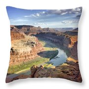 The Colors Of Canyonlands Throw Pillow