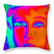 The Colors Of Cassandra Throw Pillow