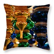 The Colors Of Christmas Throw Pillow