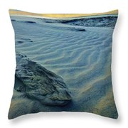 The Colors Of Sand Throw Pillow