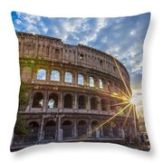 The Colosseum Throw Pillow