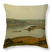 The Columbia River From Maryhill Throw Pillow
