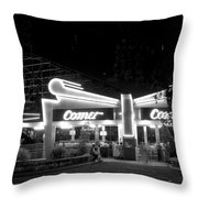 The Comet Roller Coaster - St Louis 1950 Throw Pillow