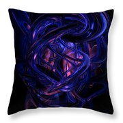 The Coming Abstract Throw Pillow