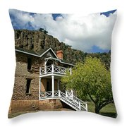 The Commandants Quarters Throw Pillow