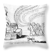 The Commissioners, 1778 Throw Pillow