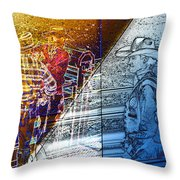 The Competitors Throw Pillow