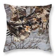 The Conflict Throw Pillow