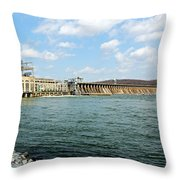 The Conowingo Dam Throw Pillow