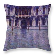 The Contarini Palace Throw Pillow
