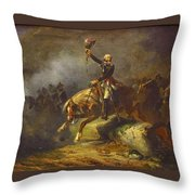 The Conventional Merlin De Thionville In The Army Of The Rhine Throw Pillow