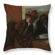 The Conversation, 1885-95 Throw Pillow