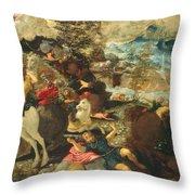 The Conversion Of Saint Paul Throw Pillow