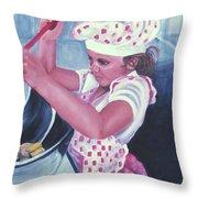 The Cook Throw Pillow