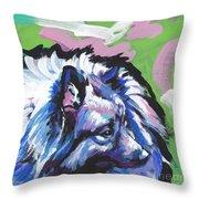 The Cool Kesha Throw Pillow