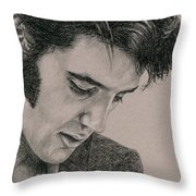 The Cool King Throw Pillow
