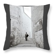 The Coptic Priest Throw Pillow