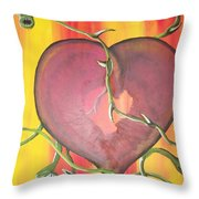 The Core Of My Heart Throw Pillow