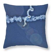 The Corkscrew Throw Pillow