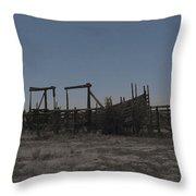 The Corral Throw Pillow