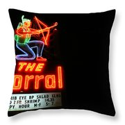 The Corral Throw Pillow