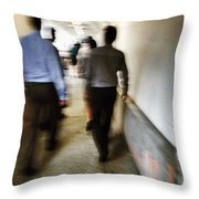 The Corrosion Of Corporate   Throw Pillow