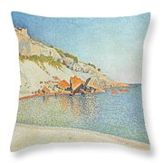 The Cote D Azur Throw Pillow