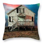 The Cottage Throw Pillow