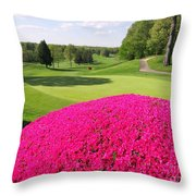 The Country Club Throw Pillow