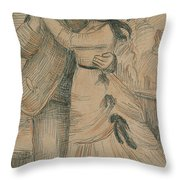 The Country Dance Throw Pillow