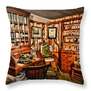 The Country Doctor Throw Pillow