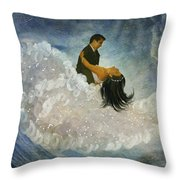 The Couple's First Dance Throw Pillow