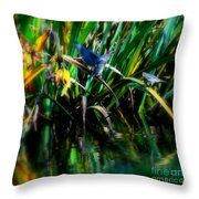 The Courting Throw Pillow