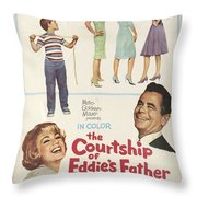The Courtship Of Eddie's Father Throw Pillow