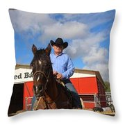The Cowboys Throw Pillow