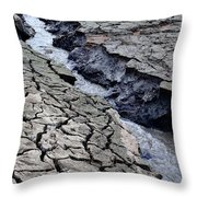 The Crack Of All Cracks Throw Pillow