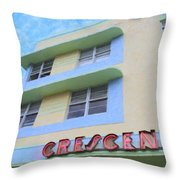 The Crescent Throw Pillow