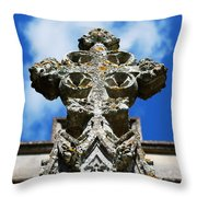 The Cross And The Tower Throw Pillow