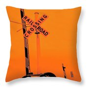 The Crossing A Throw Pillow