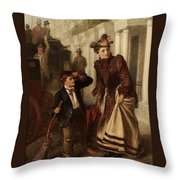 The Crossing Sweep Throw Pillow